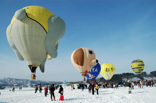 Ojiya Balloon Festival1